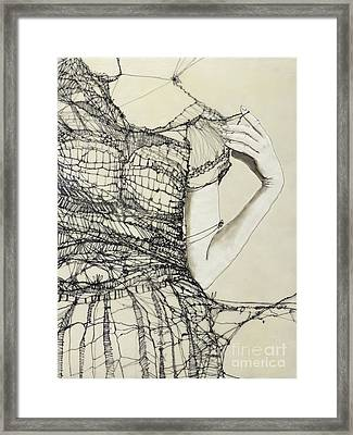 Unravel #2 Framed Print