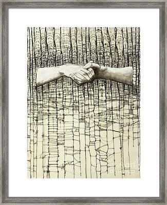 Unravel #3 Framed Print