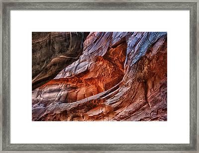 Unreachable Color Framed Print by Juan Carlos Diaz Parra