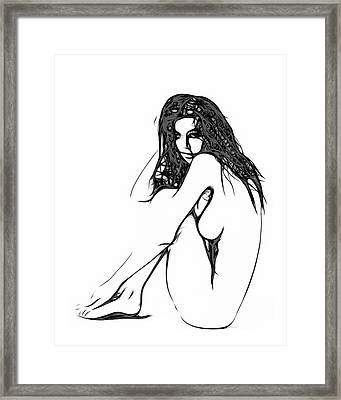 Unreal Love Framed Print by Stefan Kuhn