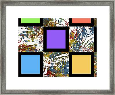 Unreality Framed Print by Condor