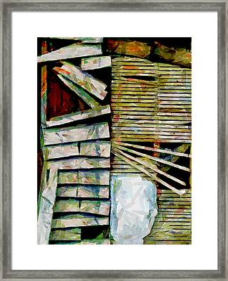 Unrepaired Framed Print by Steve Taylor
