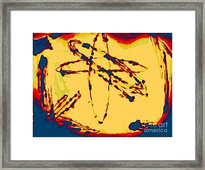 Unstable Atoms Framed Print by John Malone