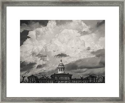 Unstable Framed Print