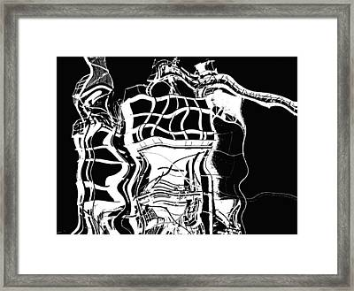 Unsteady  Framed Print by Wendy J St Christopher