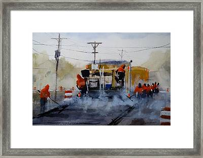Unsung Heroes Framed Print by Sandra Strohschein