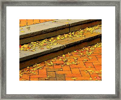 Unswept Framed Print