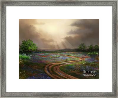Untamed Country Framed Print