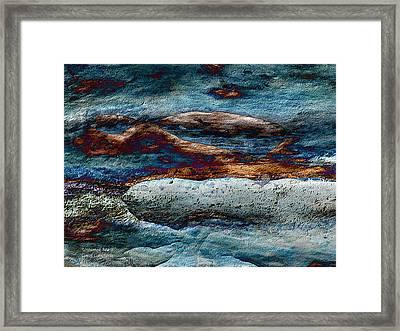 Untamed Sea 2 Framed Print by Carol Cavalaris