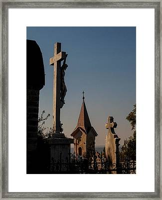 Until Death And After It Framed Print