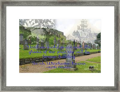 Until We Make Peace Framed Print