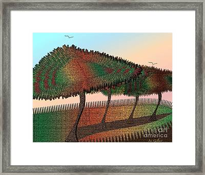 The Grove Framed Print by Iris Gelbart