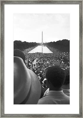 Untitled Framed Print by 1963 March On Washington