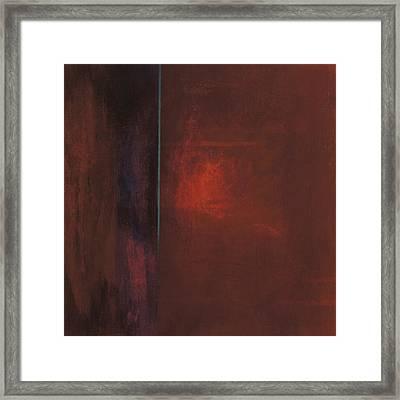Untitled  3.23.09 Framed Print