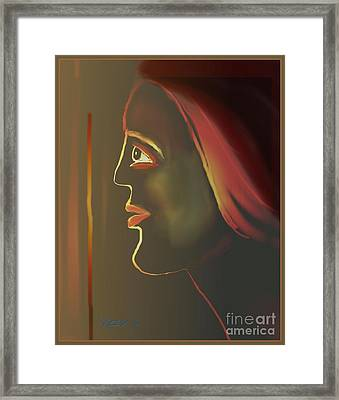 Untitled 325 Framed Print by Nedunseralathan R