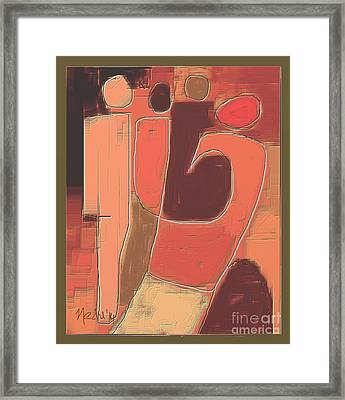 Untitled 355 Framed Print by Nedunseralathan R