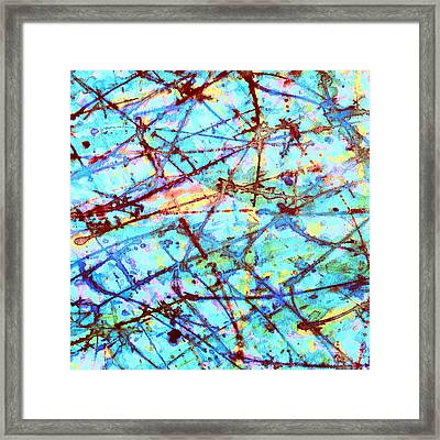 Breaking Free Framed Print by Odessa Christiana