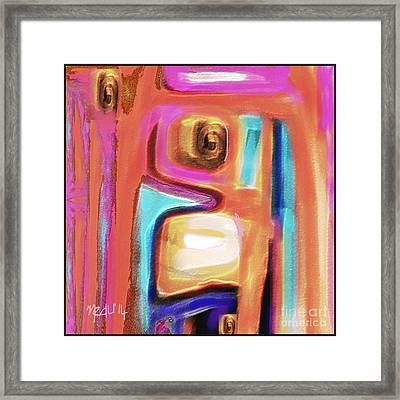 Untitled 416 Framed Print by Nedunseralathan R