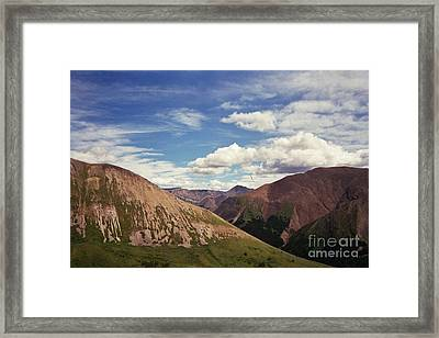 Untitled 5 Framed Print by Devin  Cogger