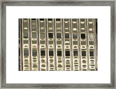 Downtown Variations 545c Framed Print by Thomas Carroll