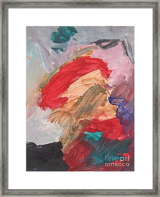 Untitled #56  Original Painting Framed Print