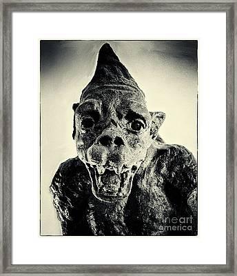 Quasimodo Who Framed Print
