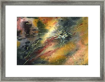 Untitled Abstract 122-12 Framed Print by Sean Seal