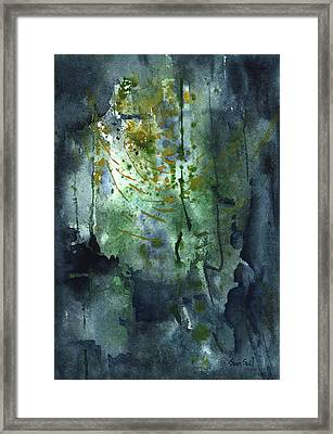 Untitled Abstract 128-13 Framed Print by Sean Seal
