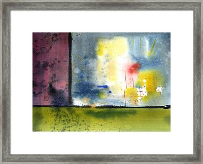 Untitled Abstract 84-14 Framed Print by Sean Seal