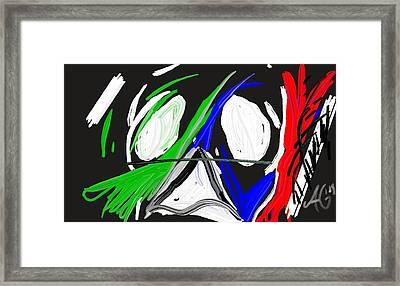 Untitled Framed Print by Alejandro Guzman
