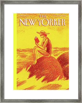 New Yorker August 12th, 2013 Framed Print by Anthony Russo