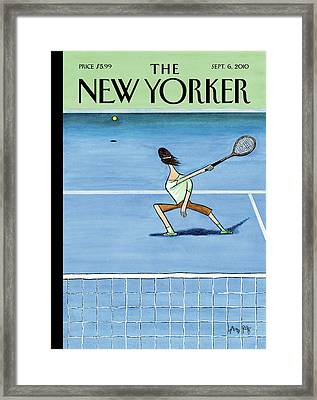 New Yorker September 6th, 2010 Framed Print