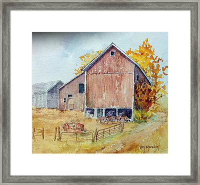 Untitled Barn Framed Print