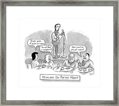New Yorker June 11th, 2007 Framed Print