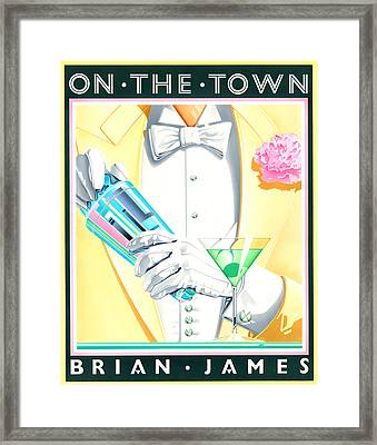Untitled Framed Print by Brian James