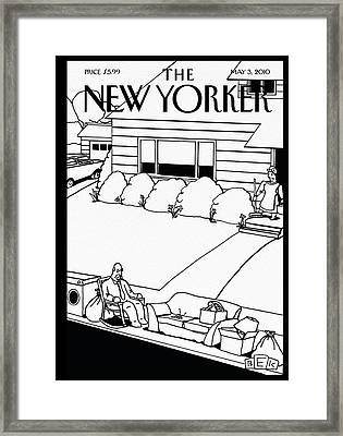New Yorker May 3rd, 2010 Framed Print