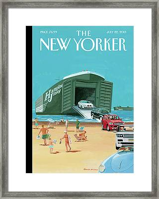 New Yorker July 22nd, 2013 Framed Print