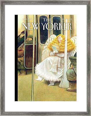 New Yorker December 12th, 2011 Framed Print