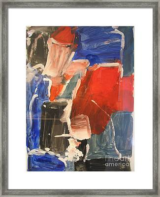 Untitled Composition I Framed Print by Fereshteh Stoecklein