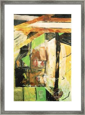 Untitled Composition IIi Framed Print