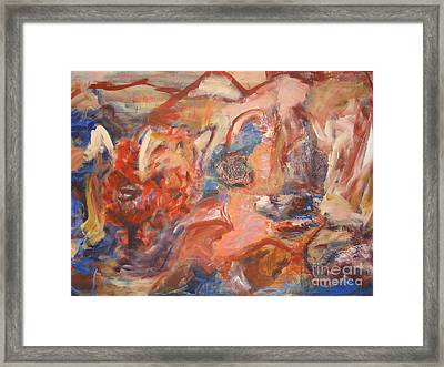 Untitled Composition IIII Framed Print