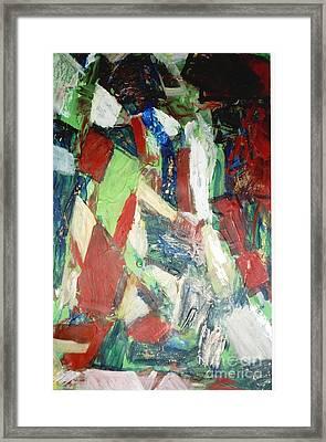 Untitled Compositionii Framed Print by Fereshteh Stoecklein
