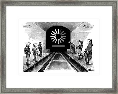 New Yorker October 3rd, 2016 Framed Print by Corey Pandolph