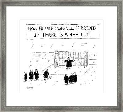 New Yorker August 22nd, 2016 Framed Print