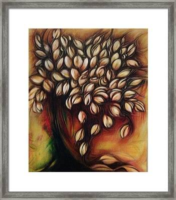 Untitled Floral Gift Framed Print