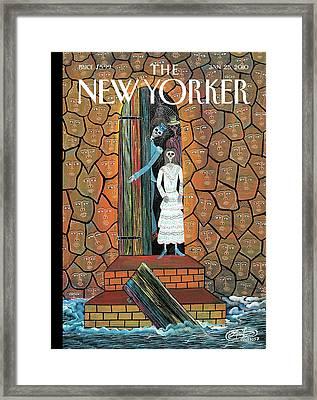 New Yorker January 25th, 2010 Framed Print