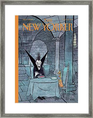 New Yorker October 31st, 2011 Framed Print