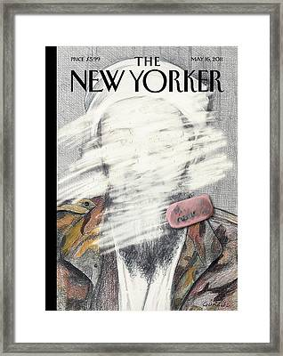 New Yorker May 16th, 2011 Framed Print