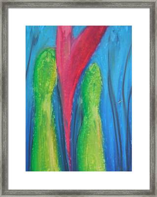 Untitled Heart Framed Print by Made by Marley