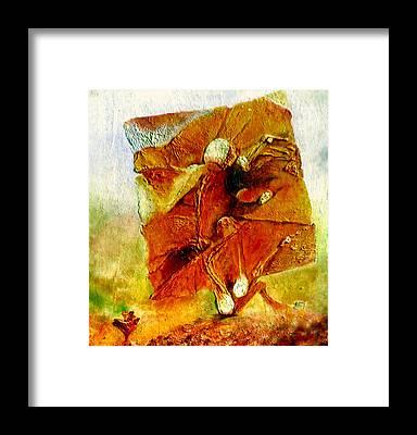 Zdzislaw Beksinski Framed Prints